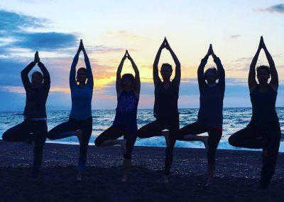 Yoga-Strand